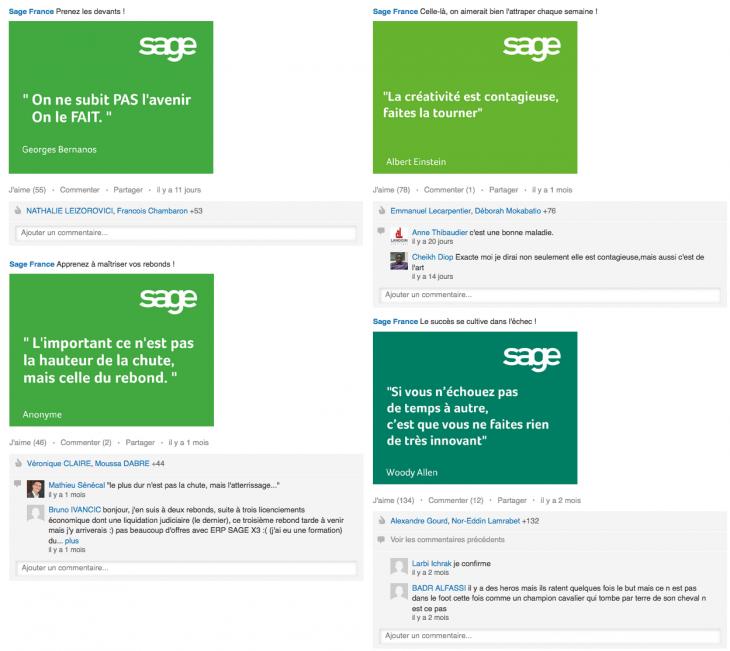 Sage France sur LinkedIn - Formation reseaux sociaux