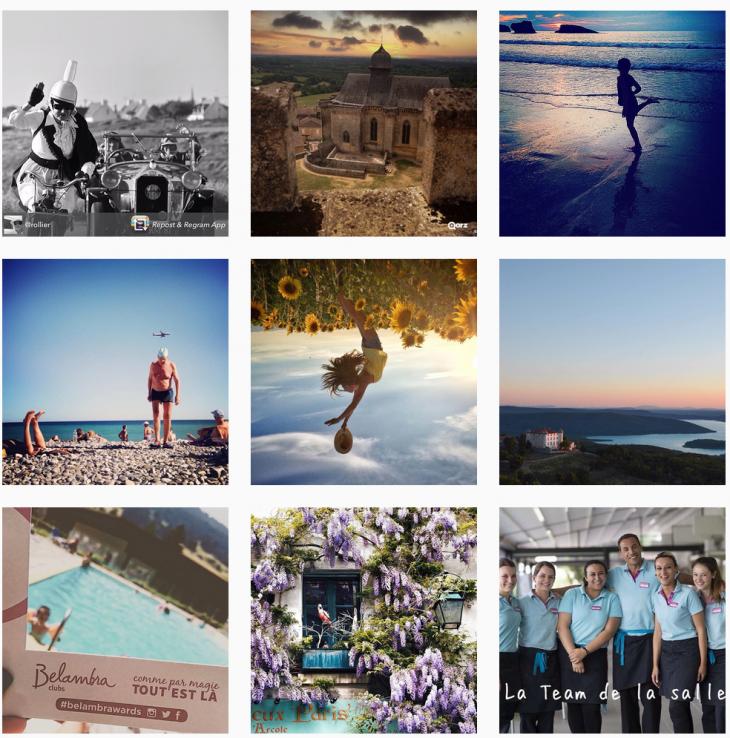 Belambra Instagram 1