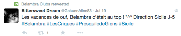 Belambra Twitter 3