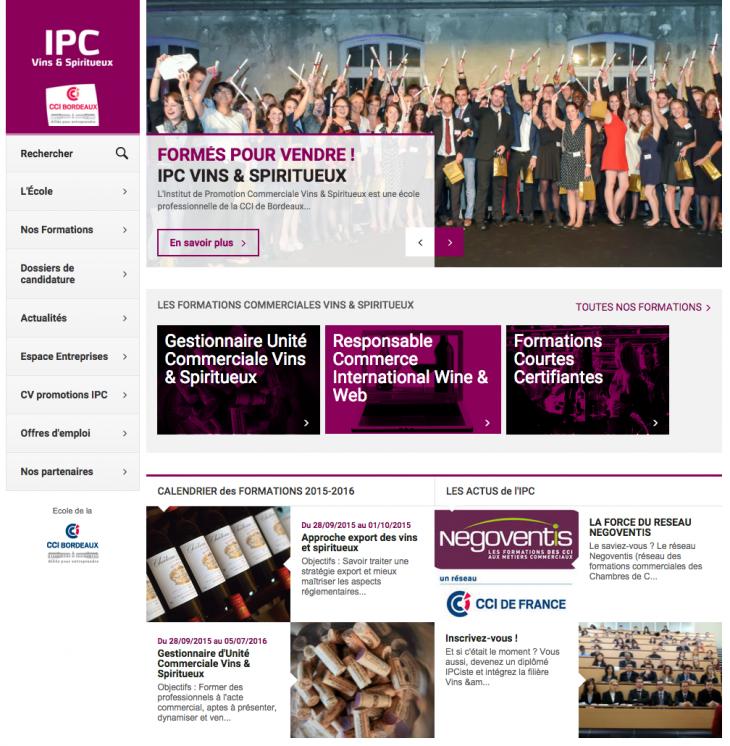 Formation Vin CCI Bordeaux