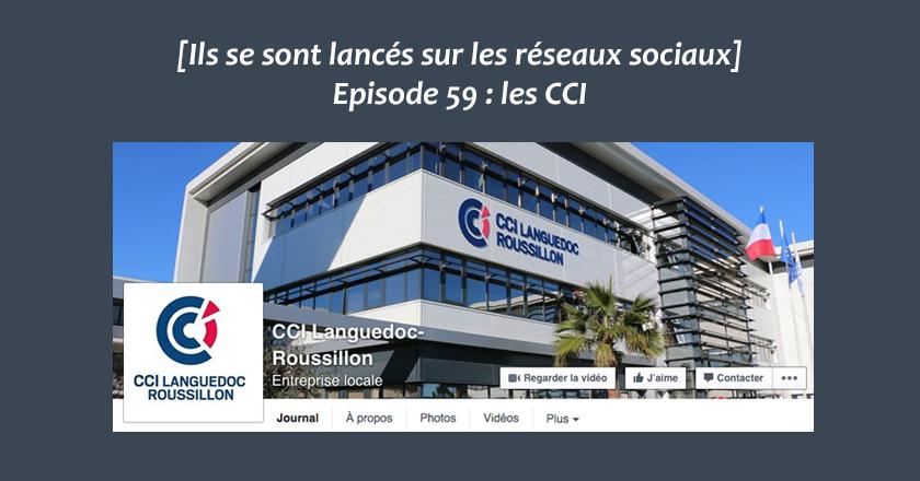 Les CCI sur les reseaux sociaux